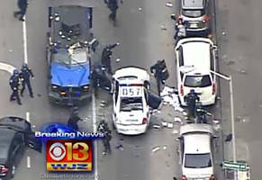 Live Video Feed Of Freddie Gray Protest In Baltimore